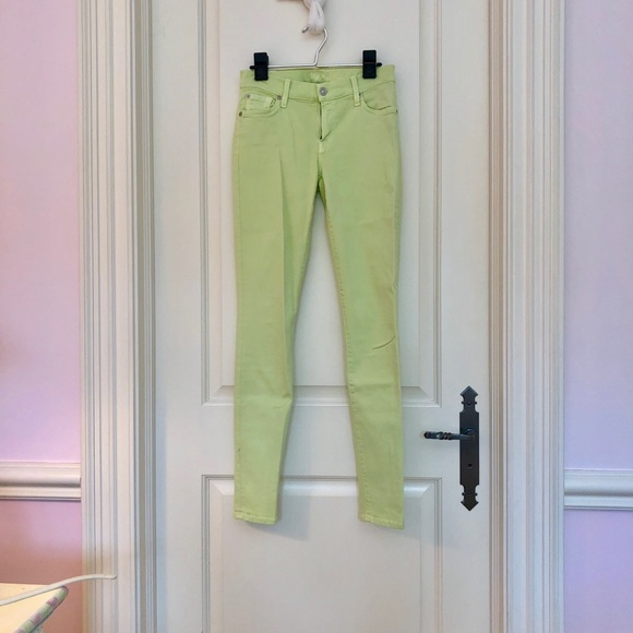 7 For All Mankind Denim - Pastel green jeans